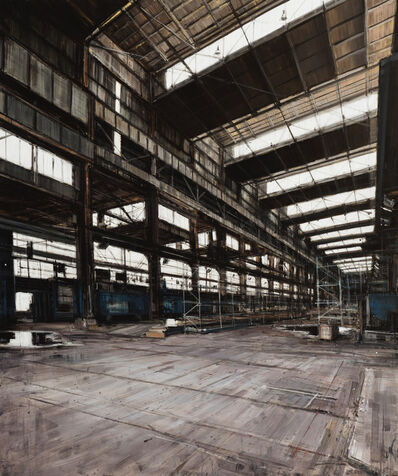Valerio D'Ospina, 'Warehouse in South Philly', 2017
