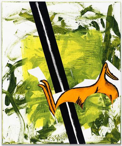 Charline von Heyl, 'Treble Duck', 2014