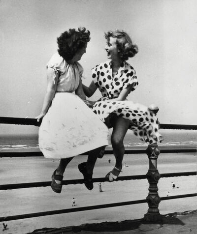 Bert Hardy, 'Maidens in Waiting, Blackpool', 1951