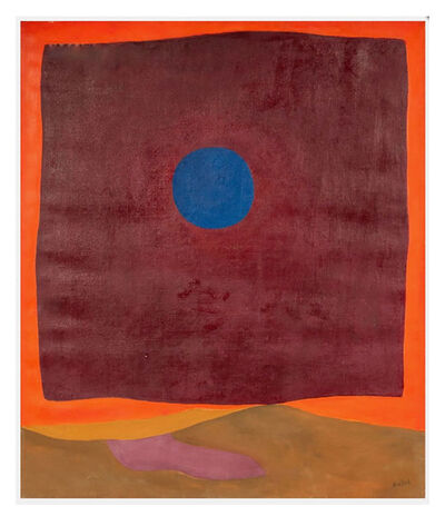 Rex Ashlock, 'Abstraction with Blue Moon', 1964