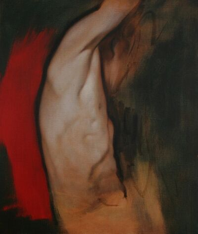 Tomas Watson, 'Study of Man in Red', 2012