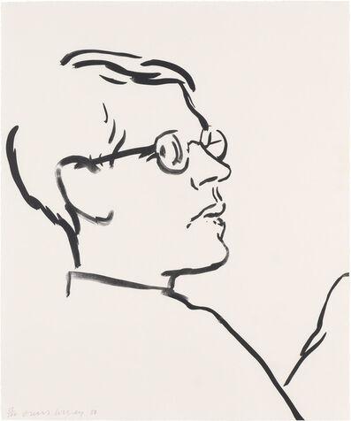 David Hockney, 'James', 1980