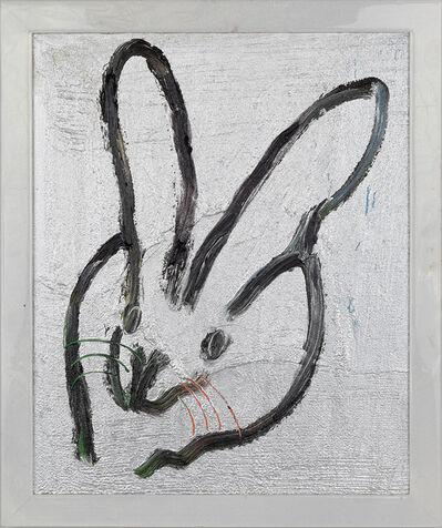Hunt Slonem, 'Silver Bunny (Planta)', 2019