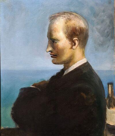 Guy Pène du Bois, 'Portrait of Chester Dale', ca. 1930
