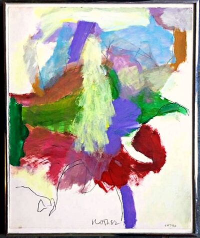 Jack Roth, 'Untitled Abstract Expressionist Painting ', 1982