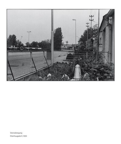 Seiichi Furuya, 'Staatsgrenze 1981-1983 (Klienhaugsdorf)', 2016