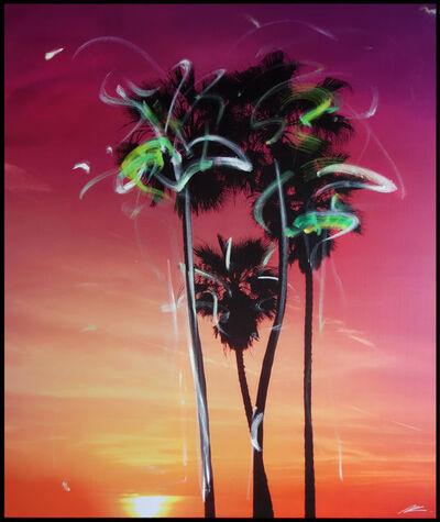 Pete Kasprzak, 'Purple Palms', 2019