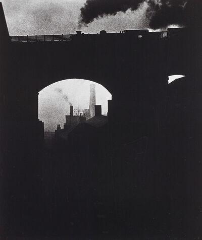 Bill Brandt, 'Train leaving Newcastle', 1937