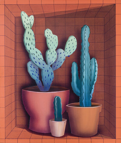 Robert Minervini, 'Three Cacti', 2019