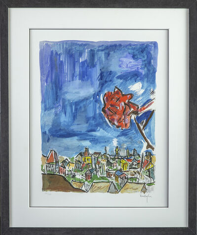 Bob Dylan, 'Rose on a Hillside', 2009