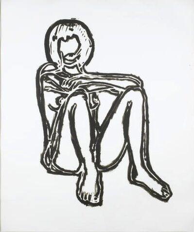 Tom Wesselmann, 'Monica sitting elbows on knees (BAM III)', 1991