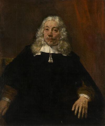 Rembrandt van Rijn, 'Portrait of a Blond Man', 1667