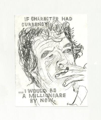David Kramer, 'If Character Had Currency', 2019
