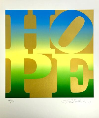 Robert Indiana, 'Spring, Four Seasons of Hope, Gold Portfolio', 2012