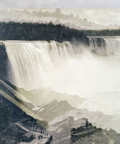 Claudia Angelmaier, 'Falls (Niagara)', 2016