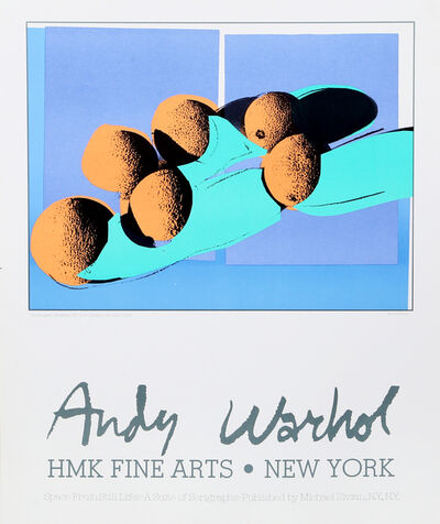 Andy Warhol, 'Space Fruits (Cantaloupes)', ca. 1979