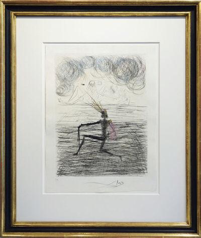 Salvador Dalí, 'Kniender Ritter', 1968