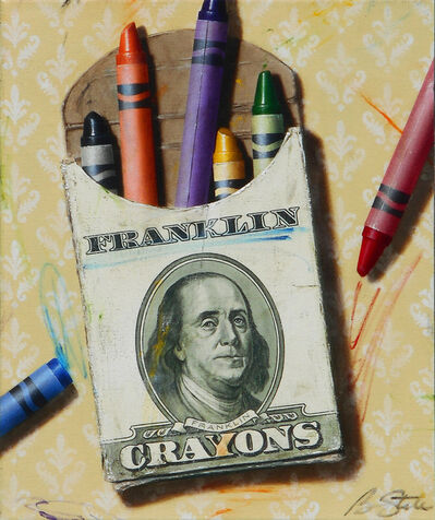 Ben Steele, 'The Colors of Money: Franklin', 2020