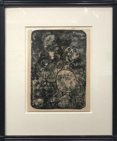 Jean Dubuffet, 'Matiere et Memoire: Femme et Son Petite', 1944
