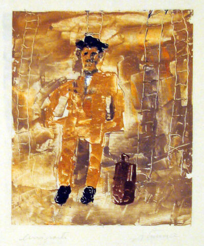 Ignacio Iturria, 'Emigrante', 2000
