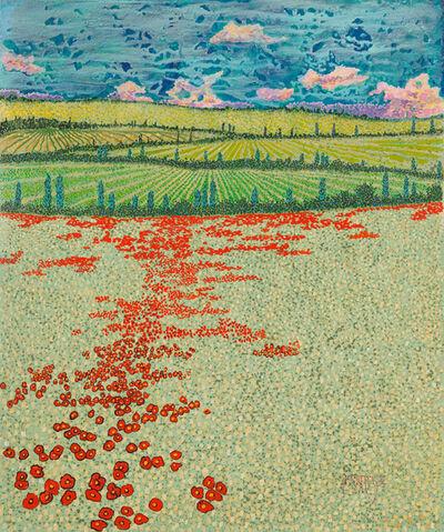 H.M. Saffer II, 'Spring Poppies II', ca. 2016