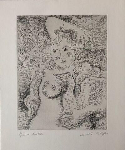 André Masson, 'Léda aux trois perles ', 1972