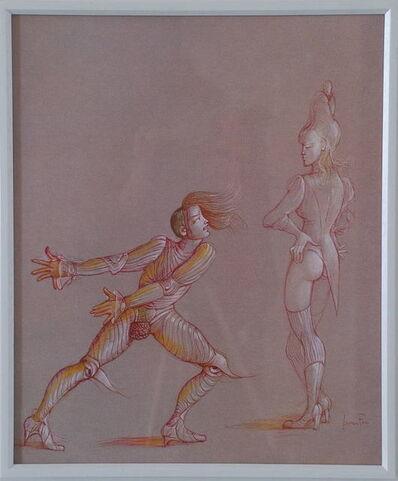 Leonor Fini, ' Les Fruits de la passion', 1980