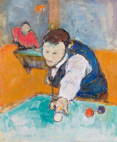 Henry Botkin, 'Billiard Player', ca. 1930