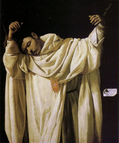 Francisco de Zurbarán, 'Saint Serapion', 1628