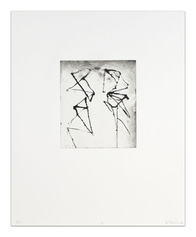 Brice Marden, 'Etchings to Rexroth, 03', 1986