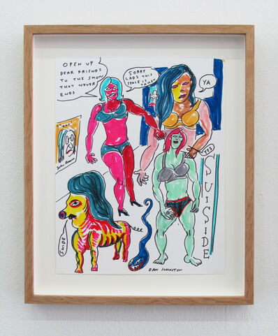 Daniel Johnston, 'Open Up Dear Friends To The Show That Never Ends ', 2010