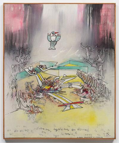 Roberto Matta, 'Être superieur des oiseaux', 1971