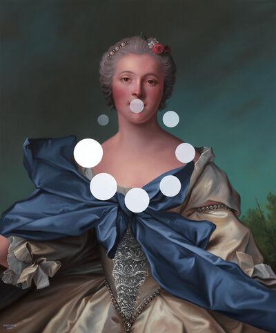 Shawn Huckins, 'Marie Françoise de La Cropte de St. Abre, Marquise d'Argence: Panic Nine (Buffer Spinner)', 2019
