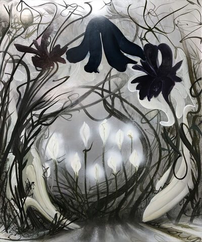 Inka Essenhigh, 'New Flowers', 2018