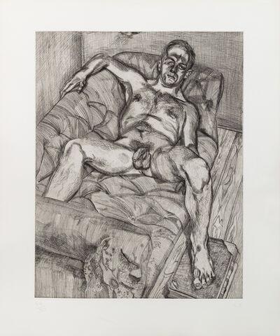 Lucian Freud, 'Man Posing', 1985
