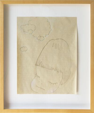Yoshitomo Nara, 'Untitled (portrait drawing)', 2000