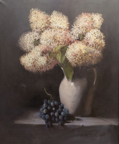 Edward Spaulding DeVoe, 'Hydrangeas and Grapes', 2017
