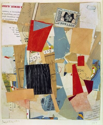 Kurt Schwitters, 'Cottage', 1946