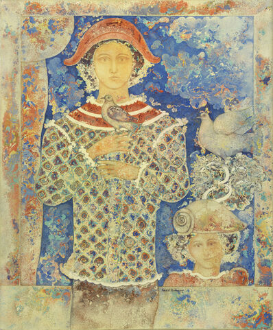 Sakti Burman, 'Un prince d'azur', circa 1985