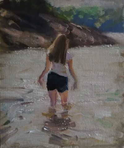 Rosemary Burn, 'The English riviera', 2021