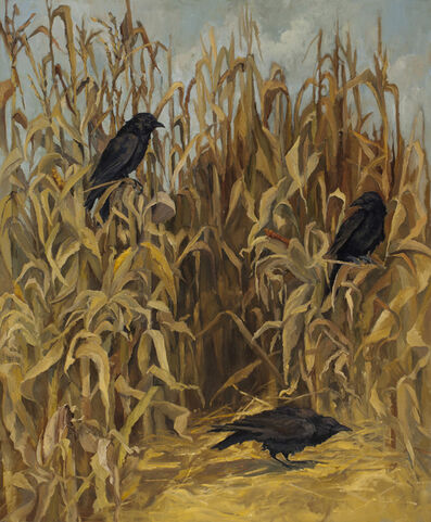 Edwina Lucas, 'Amagansett Ravens', 2015