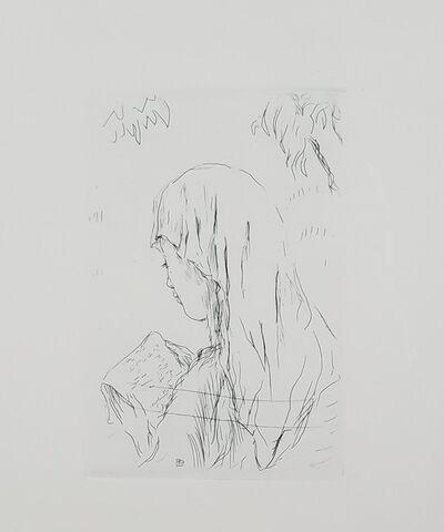 Pierre Bonnard, 'Fille Lisant', 1965 (posthumous edition)