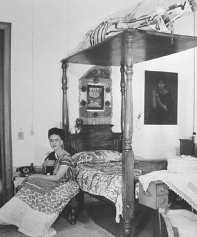 Bernard Silberstein, 'Frida Kahlo In Her Bedroom', 1940