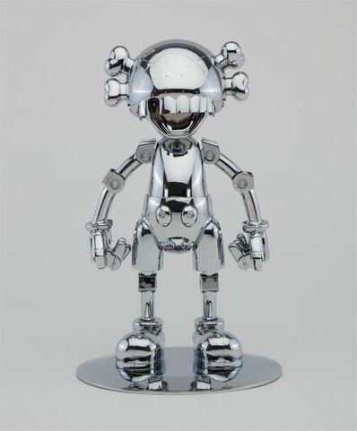 KAWS, 'KAWS X HAJIME SORAYAMA No Future Companion (Silver Chrome) ', 2008