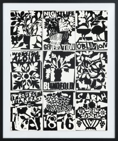 B. Thom Stevenson, 'Quilt Painting 1', 2017