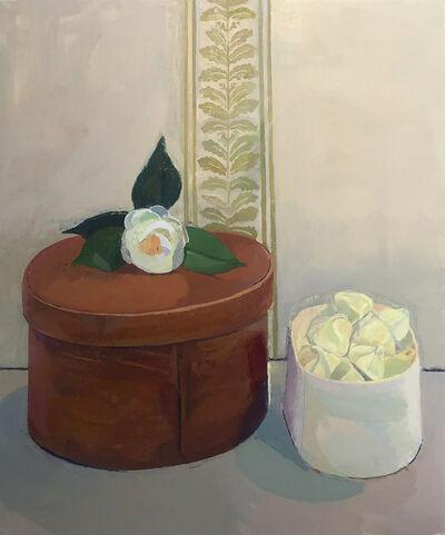 Xico Greenwald, 'Box, Meringues, Flower', 2019