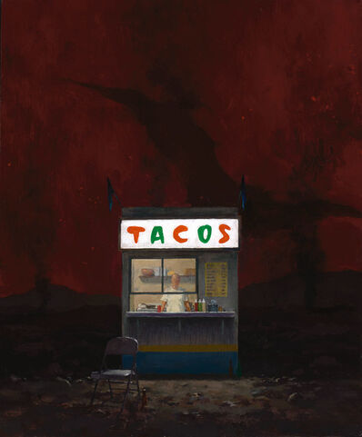 John Brosio, 'Taco Stand in Hell', 2017