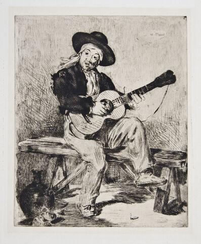 Édouard Manet, 'Le Chanteur Espagnol ou Le Guitarrero', 1861