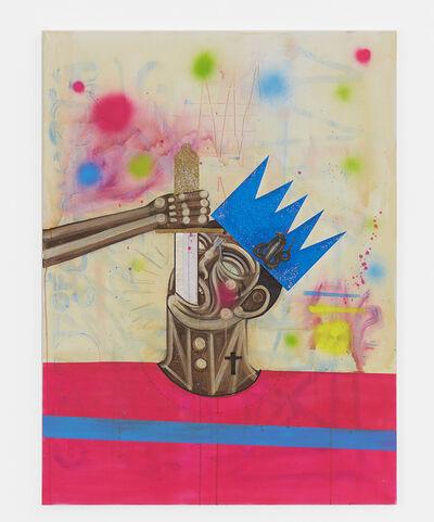 Carlos Ramirez, 'Sword Swallower', 2017
