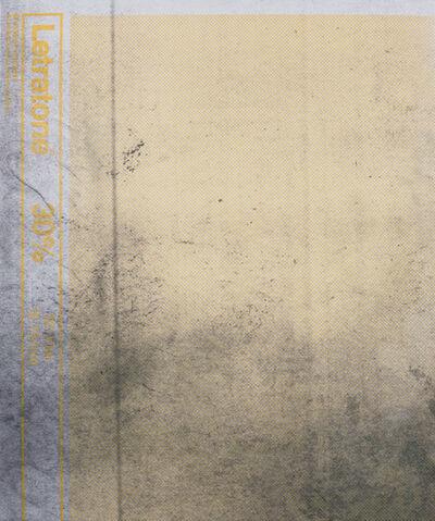 Manor Grunewald, 'E.H.D (Letratone yellow #2)', 2015